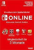 Nintendo Switch Online Mitgliedschaft - 3 Monate | Switch Download Code