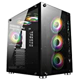 GameMax DS360 Mid-Tower ATX ARGB PC-Gaming-Gehäuse | Schwarz