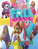 fall guys coloring book: Amazing fall guys coloring book for kids and adults, high-Quality illustrator images fall guys, 8.5×11 inch
