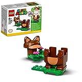 LEGO 71385 Super Mario Tanuki-Mario Anzug Power Up Pack, Erweiterungsset, Kostüm zum Drehen und Stampfen