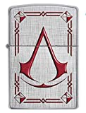 Zippo Assassin's Creed Feuerzeug, Messing, Design, 5,83,81,2