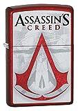 Zippo Classic Lighter-Assassins Creed Feuerzeug, Messing, Individual Design, Original Pocketsize