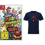 Super Mario 3D World + Bowser's Fury [Nintendo Switch] + 3D World - T-shirts XL
