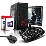 Komplett PC-Paket Gaming/Multimedia Computer mit 3 Jahren Garantie! | AMD FX-8800 4x3.4 GHz | 16GB DDR4 | 256 GB SSD | 2TB | USB3 | WiFi | DVD±RW | Win10 Pro 64 | 24' LED TFT | Tastatur+Maus #5711