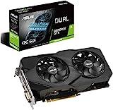 Asus GeForce GTX 1660 Super Overclocked 6GB Dual-Fan Evo Edition VR Ready HDMI DisplayPort DVI Grafikkarte (DUAL-GTX1660S-O6G-EVO)