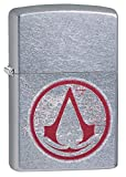 Zippo 207 Assassin's Creed Feuerzeug, Silber, One Size
