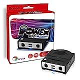 Switch Docking- & Ladestation mit 100MBit Netzwerk-Port & 4 Controller-Ports (2x Switch, 2x GameCube) mit HDMI Ausgang, schwarz-grau (PowerBay Ethernet)