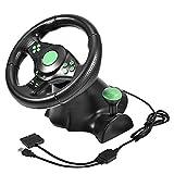 Hopcd PC-Spiel Racing Wheels Replacment Gaming Racing Lenkrad/Controller mit Pedalen für Xbox 360/PS2/PS3