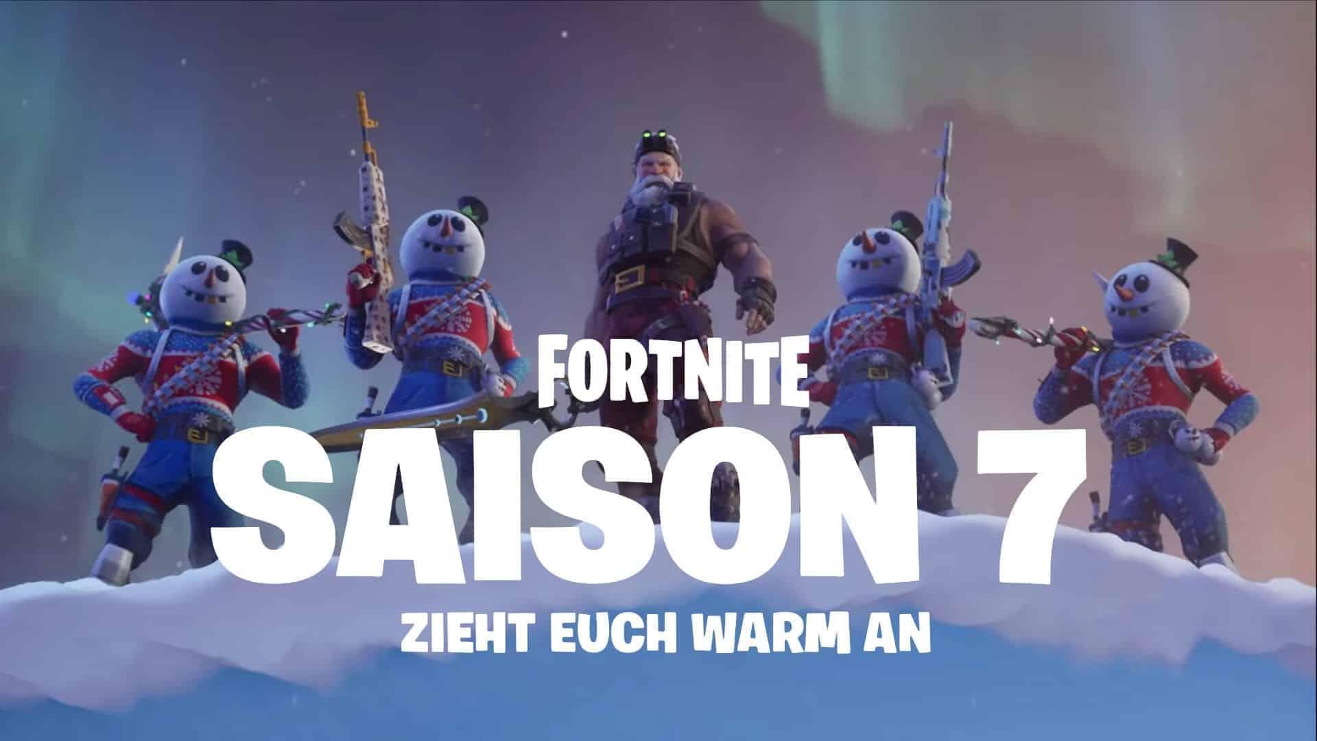 Fortnite Season 7 Ist Da Zieht Euch Warm An Gaming Grounds De
