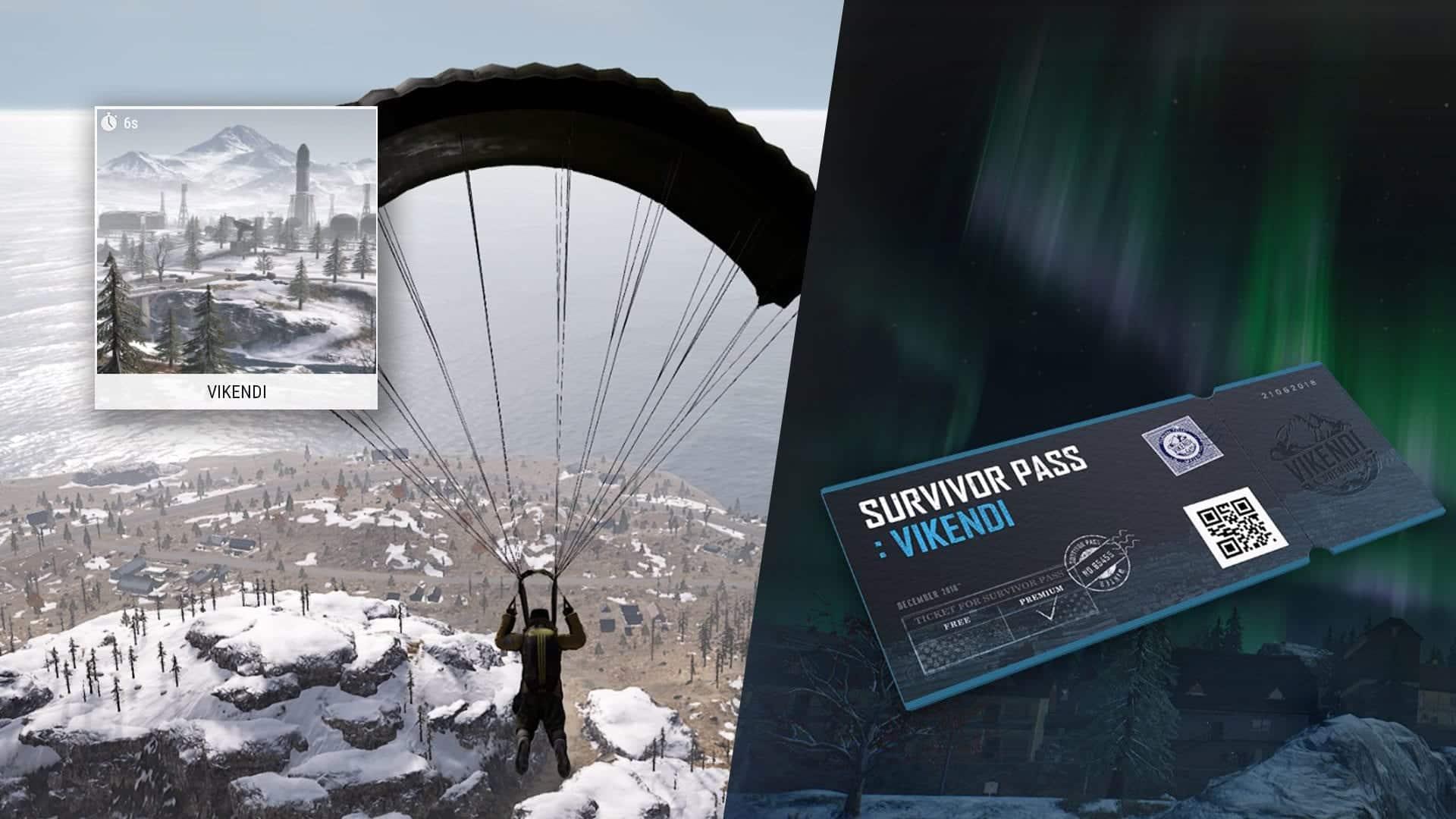 Pubg Neue Schneekarte Vikendi Und Uberlebenspass Gaming Grounds De