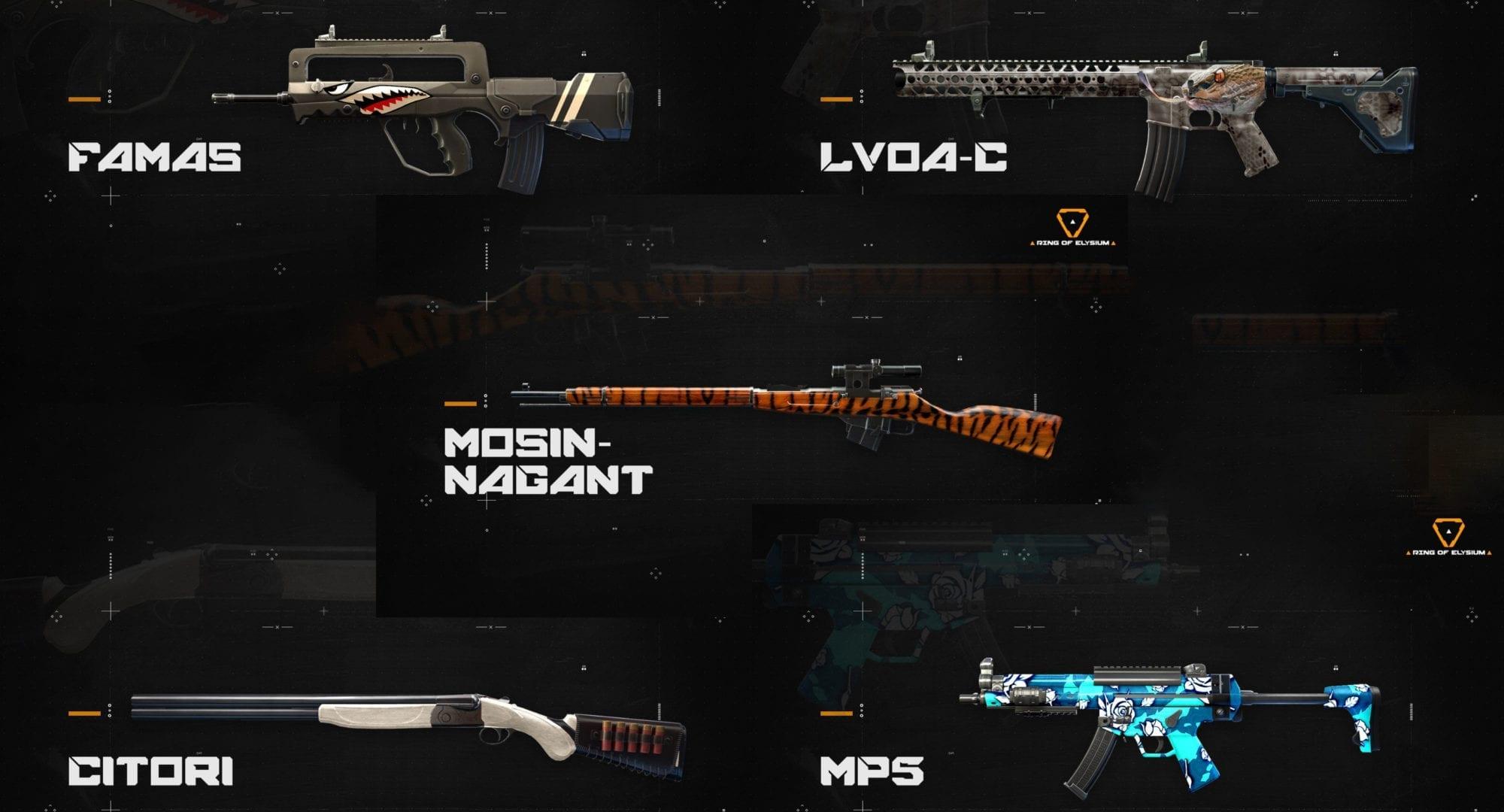 Ring of Elysium: Neues Waffen-Skin-System vorgestellt