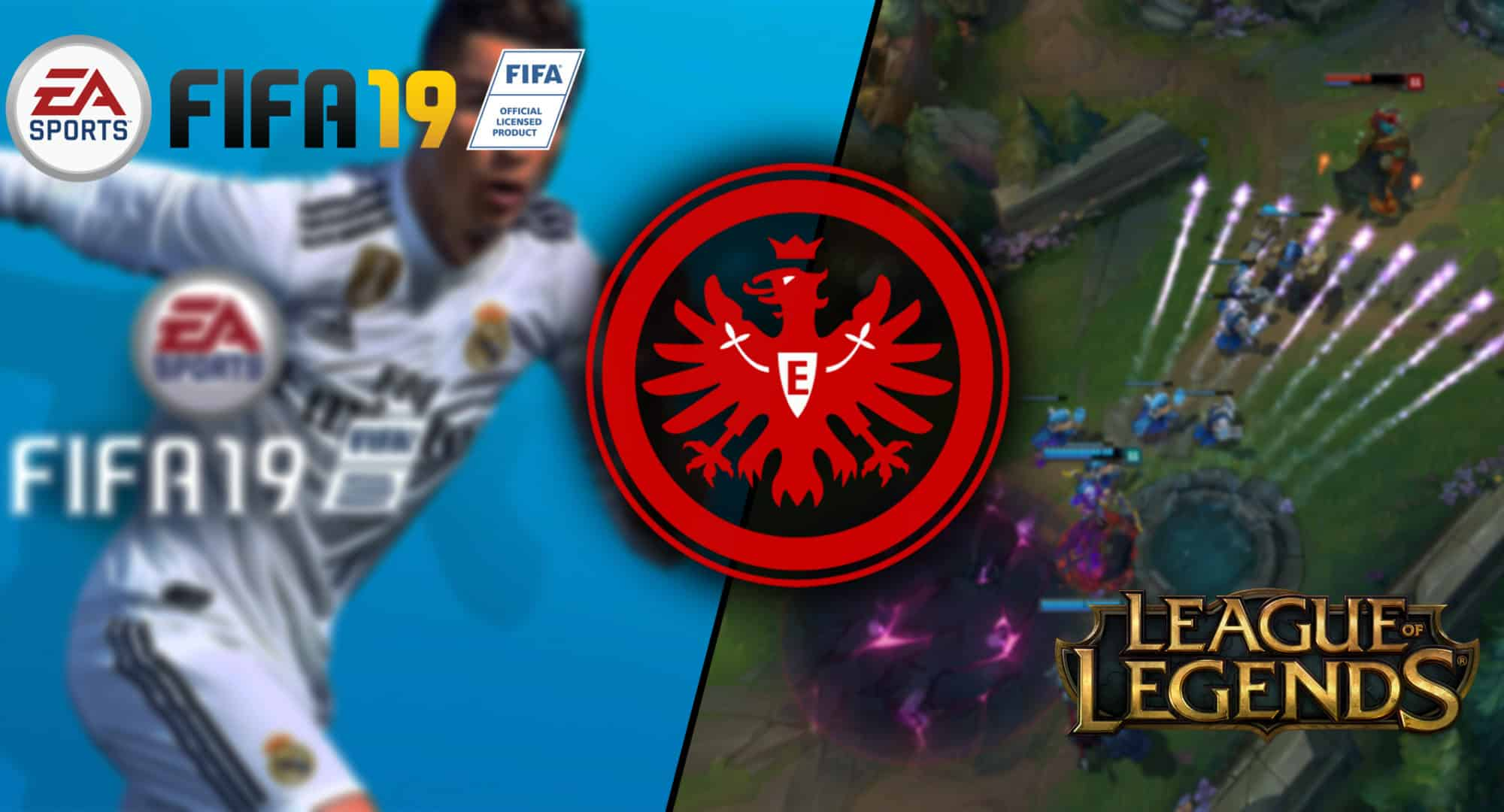 Eintracht Frankfurt Esport League Of Legends Kommt Dazu Gaming