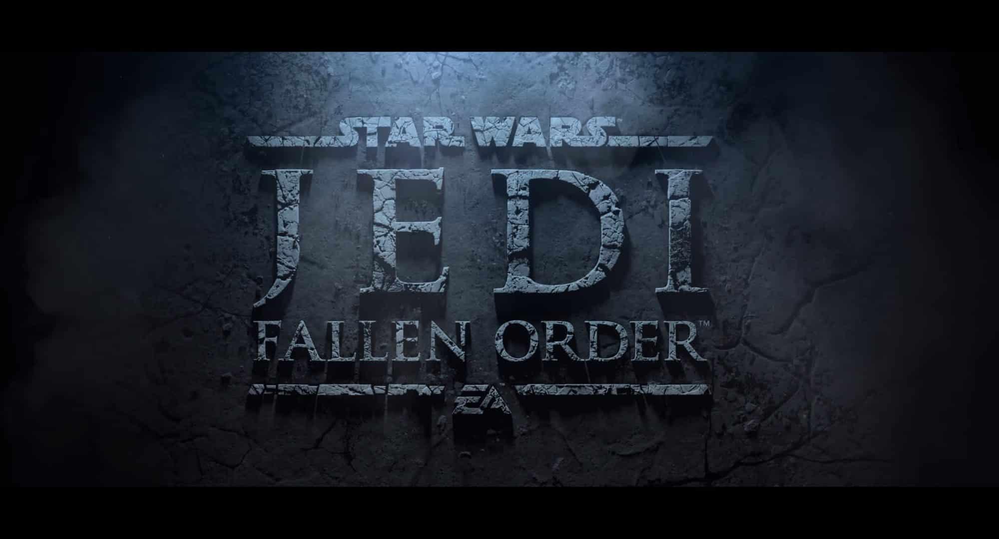 Weltpremiere Star Wars Jedi Fallen Order Enthüllt Gaming Groundsde