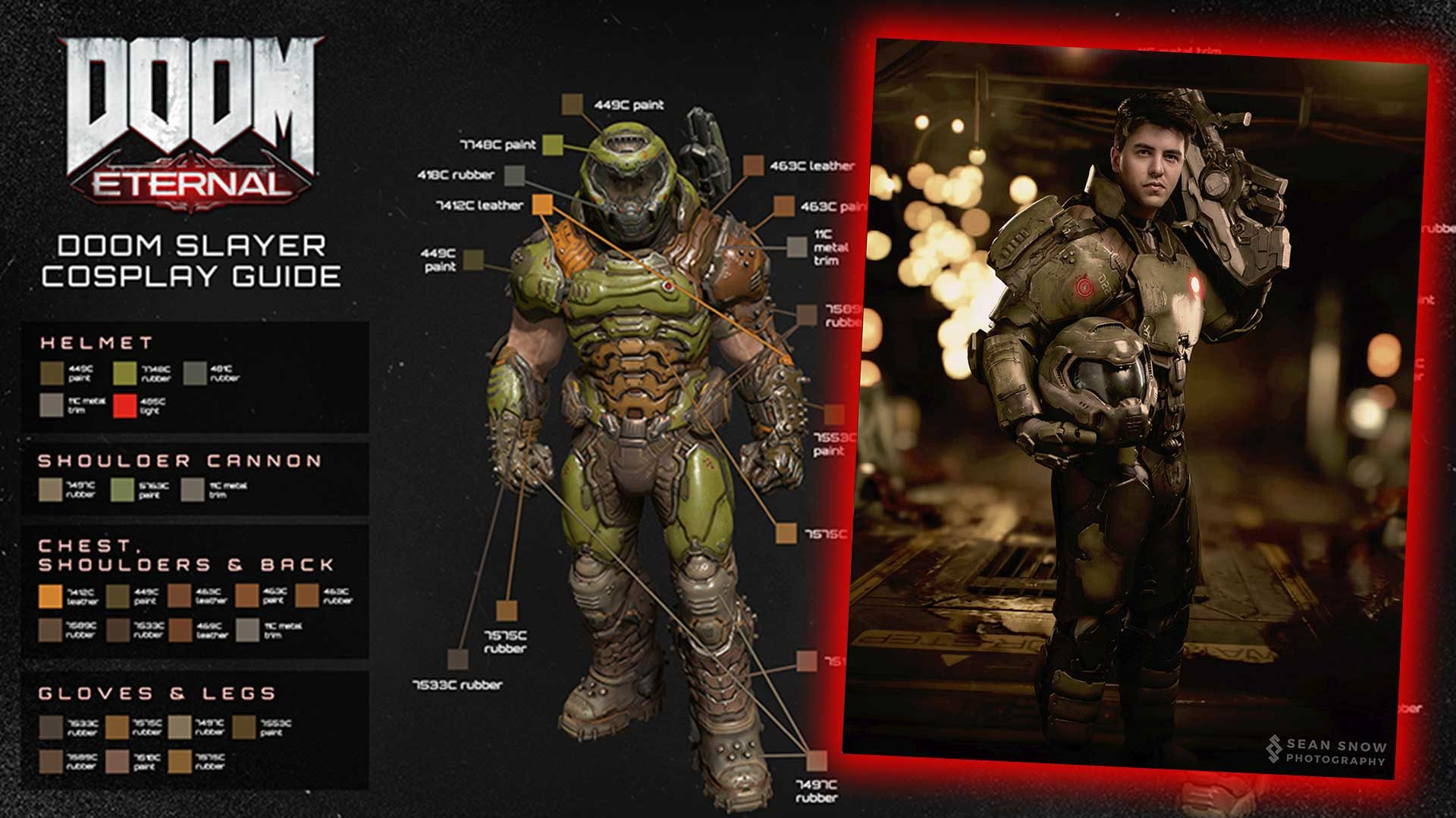 Doom Slayer Cosplay Anleitung Outfit Fur Die Holle Gaming Grounds De