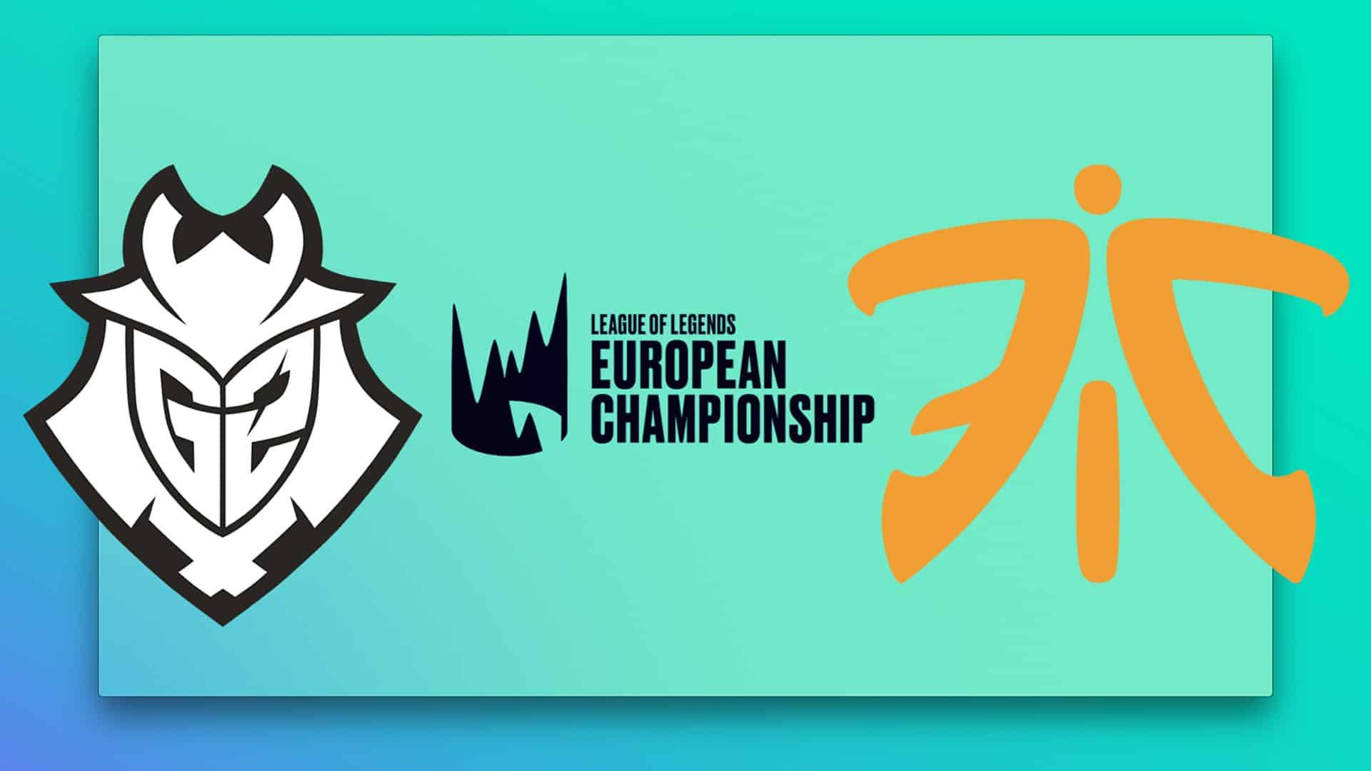 LEC Finals G2 vs Fnatic Athen 2019