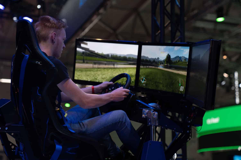 SimRacing gamescom 2019 von Jörg