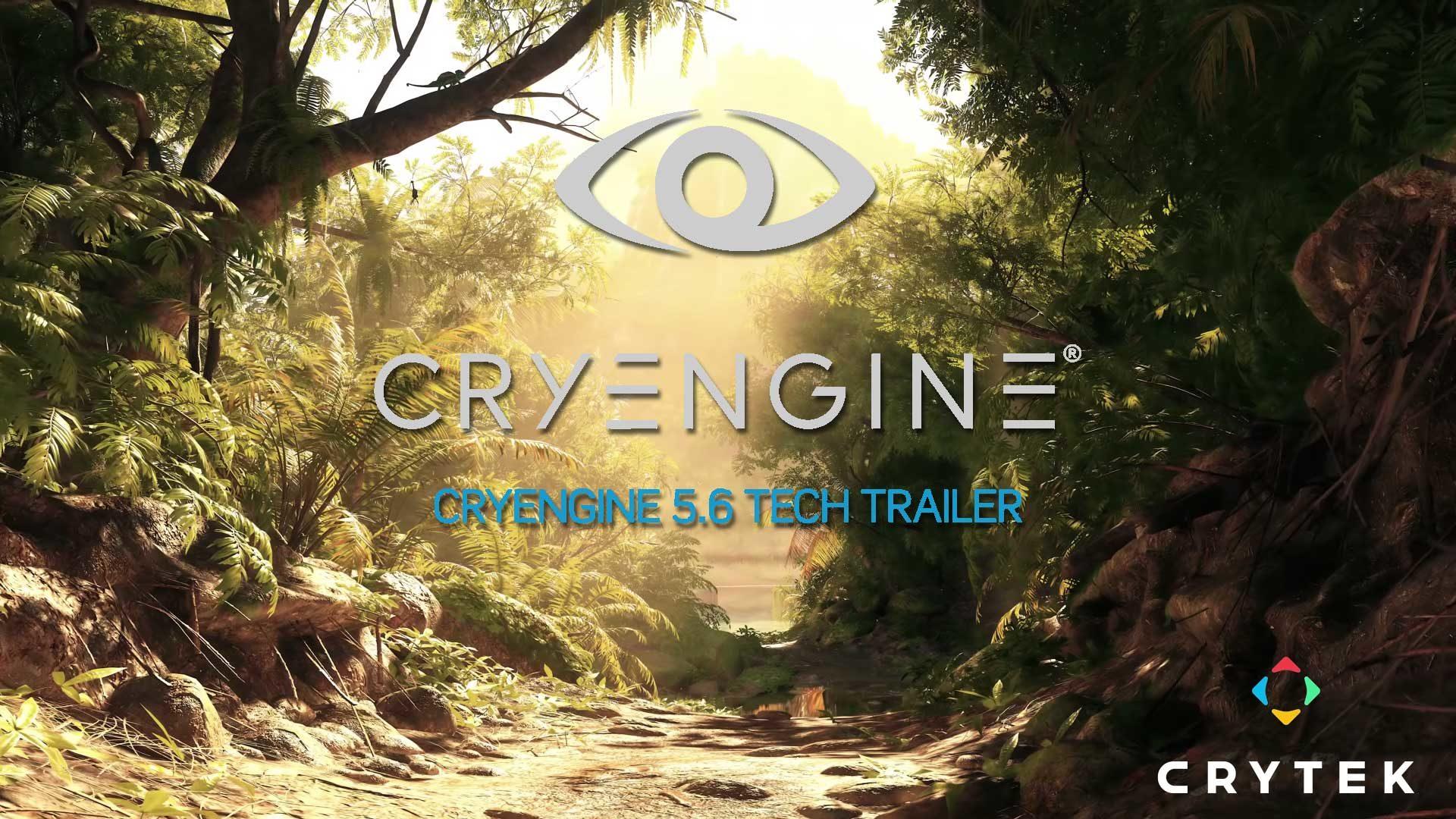 CryEngine 5 6 – Tech Trailer enthüllt unglaubliche Effekte