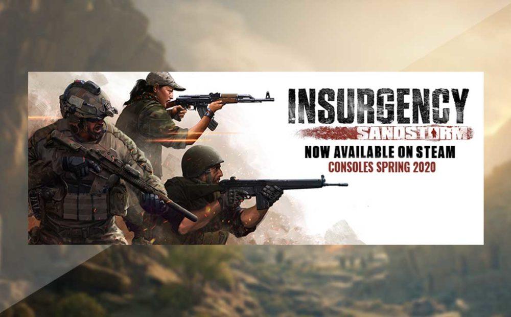 insurgency sandstorm console