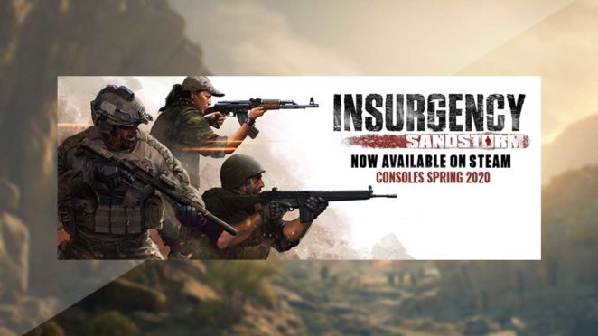 insurgency sandstorm console