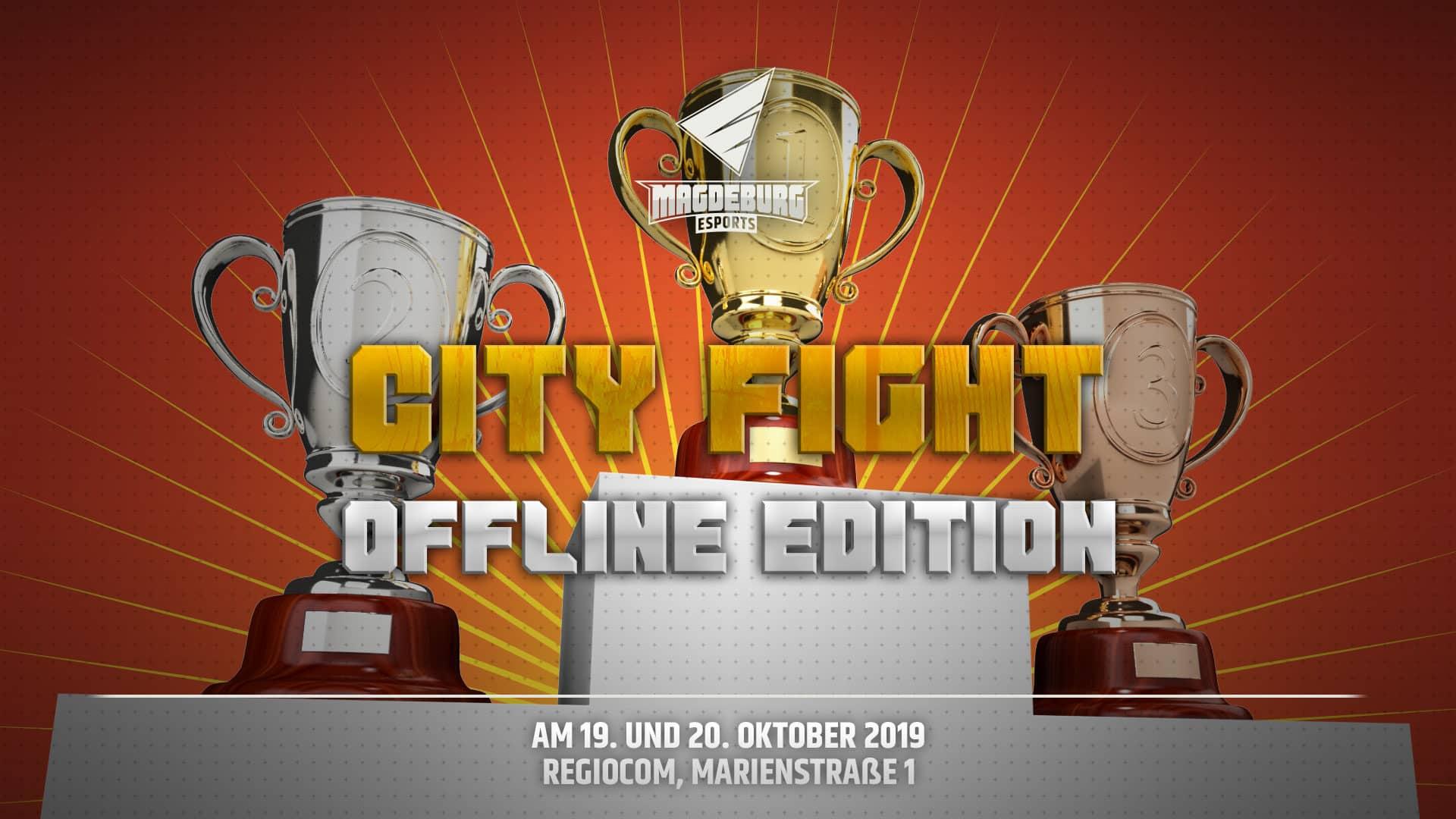 Ankündigung Banner City Fight offline edition neu babt