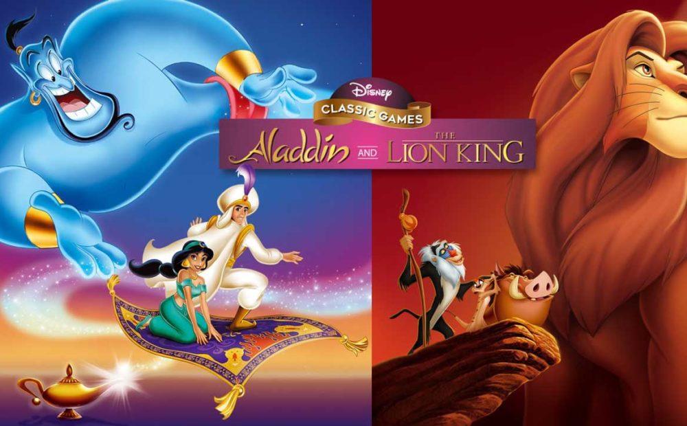 H2x1 NSwitch DisneyClassicGamesAladdinAndTheLionKing image1600w babt