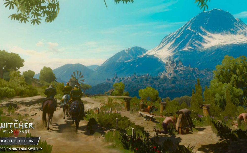Witcher3 Switch Farily certain I can beat you guys there RGB en.6
