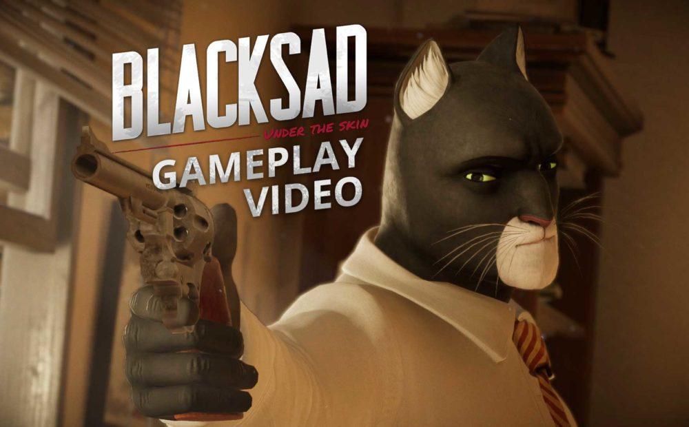 blacksad gameplay video
