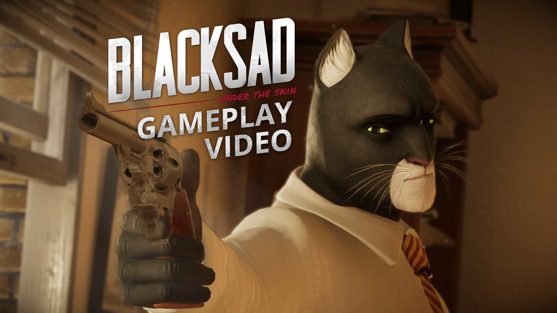 blacksad gameplay video