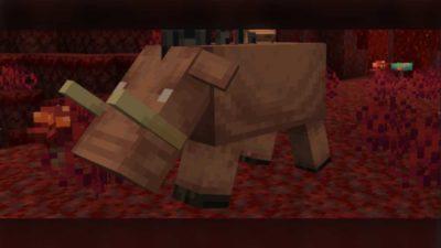 minecraft nether update piglin hoglin