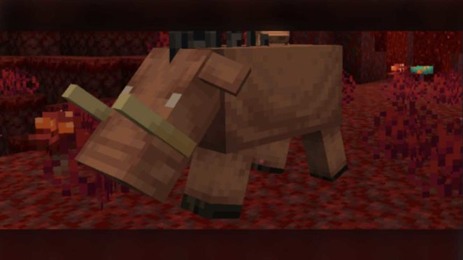 minecraft nether update piglin hoglin