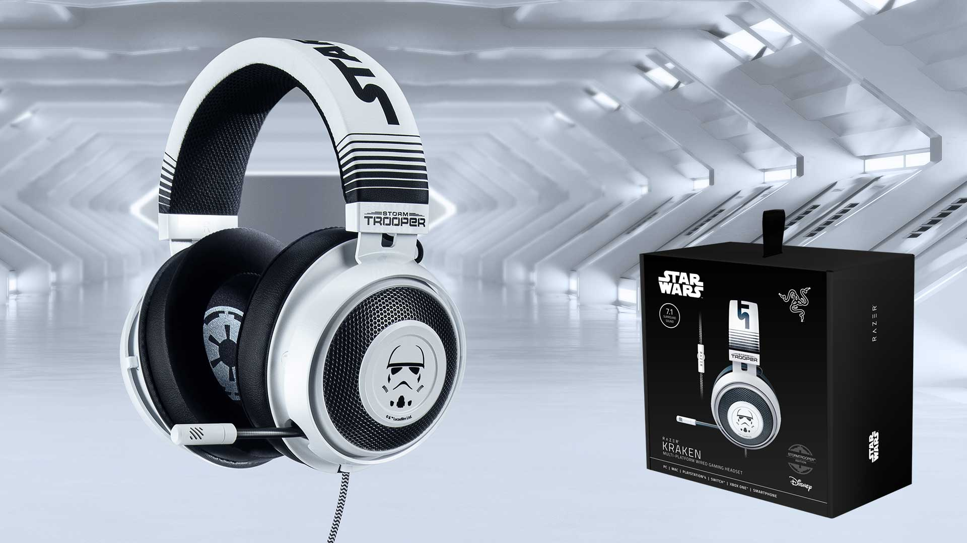 Razer Kraken Storm Trooper cover