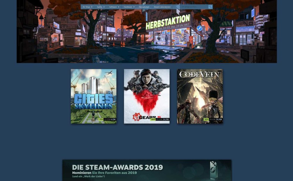 steam herbst sale 2019 babt