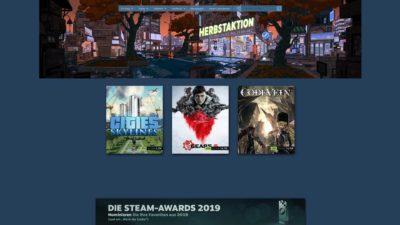 steam herbst sale 2019 babt