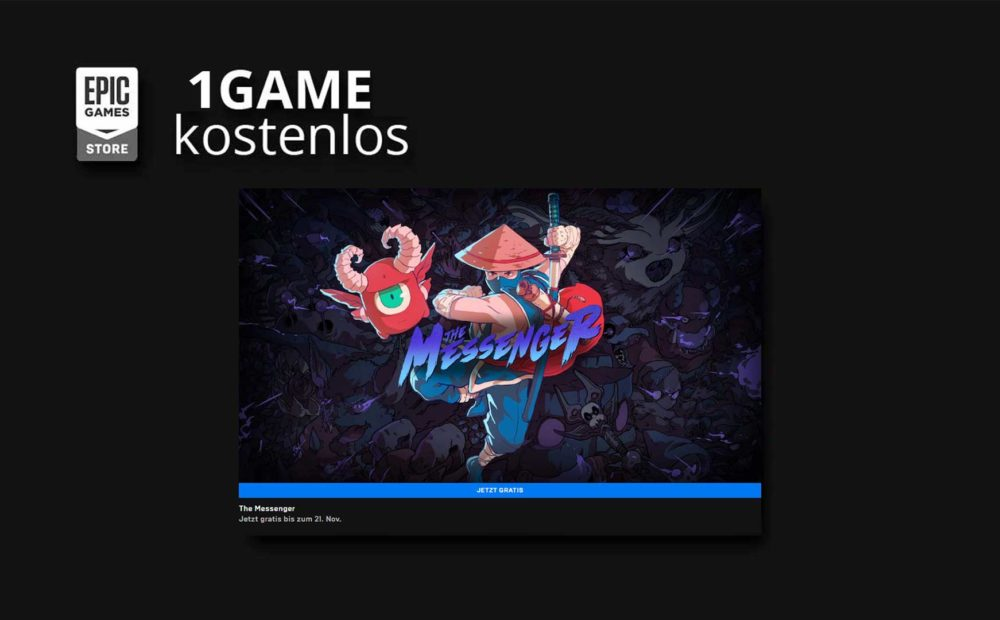 the messenger kostenlos epic games store