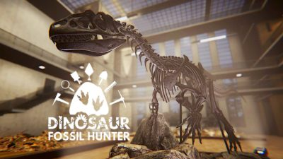 dinosaur fossil hunter cover