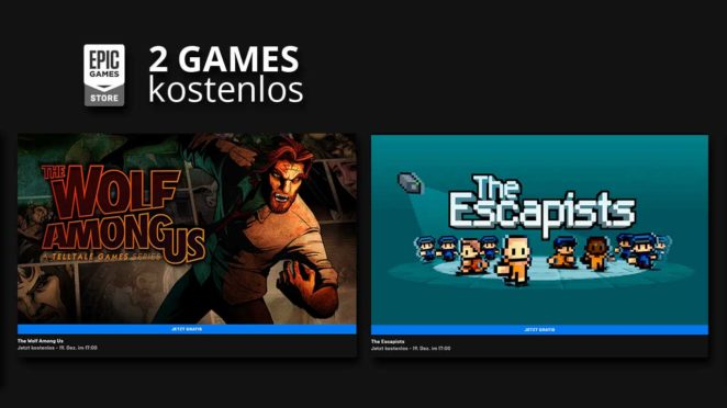 epic games store the escapists the wolf among us