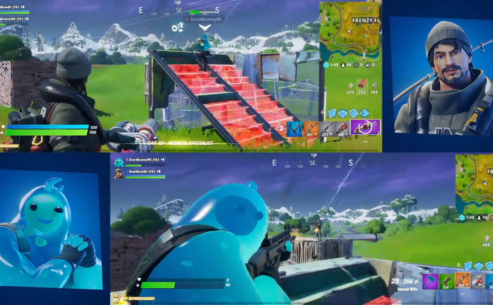 fortnite ps4 split screen babt