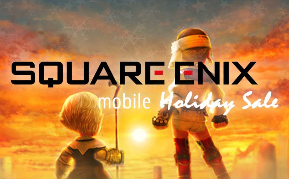 square enix final fantasy holiday sale 2019