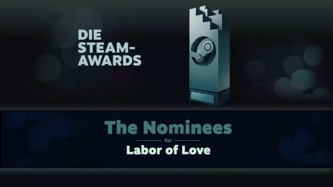 steam awards 2019 labor of love cover