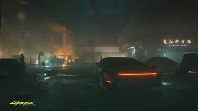 Cyberpunk2077 Arriving at destination en