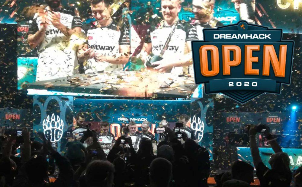 dreamhack open csgo big final 2020