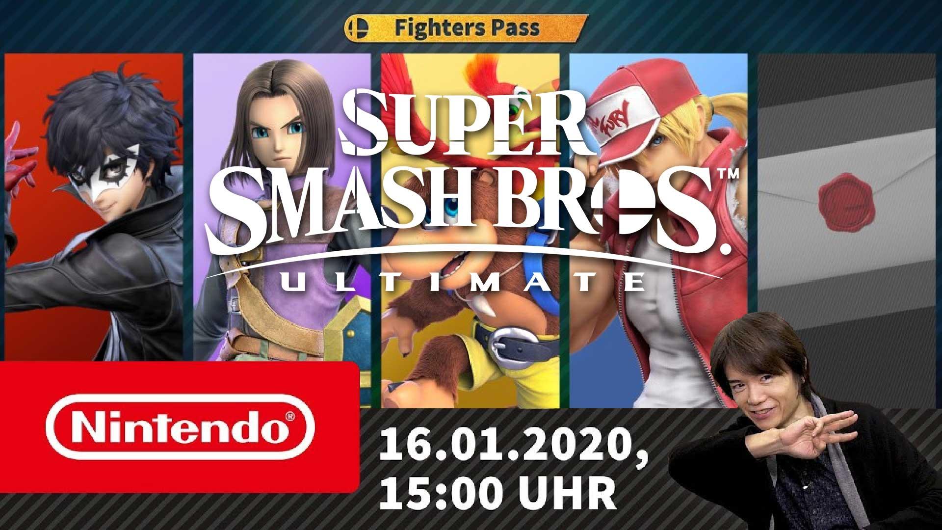 super smash bros ultimate dlc fighter