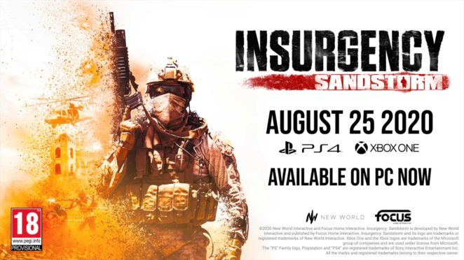 insurgency sandstorm console release