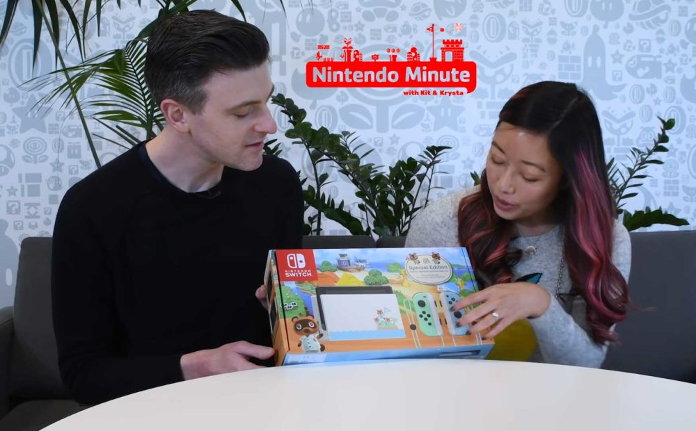 switch animal crossing unboxing