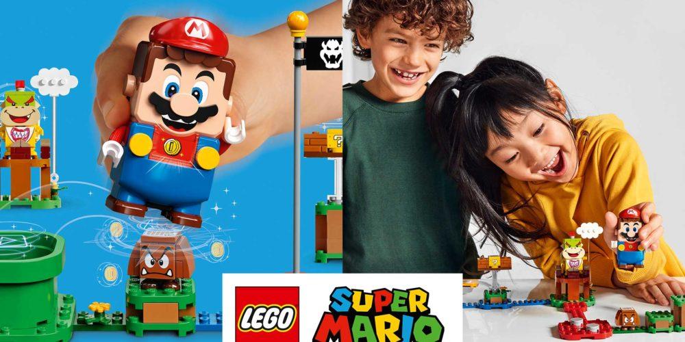 LEGO Super Mario blue babt