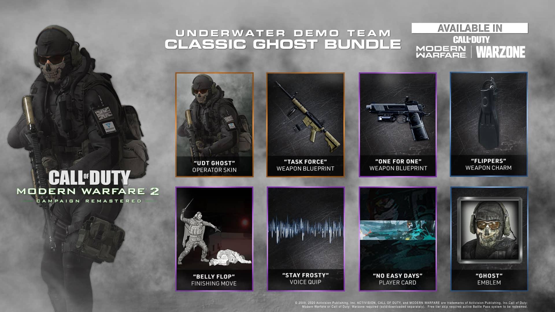 MW2R UDT Bundle Preview