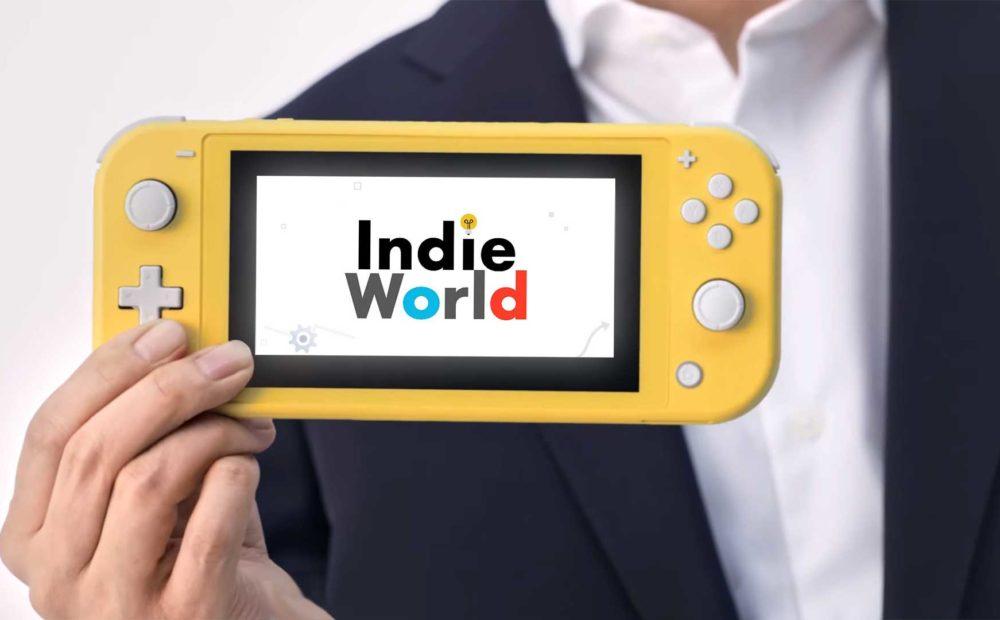 nintendo switch light screen indie world babt