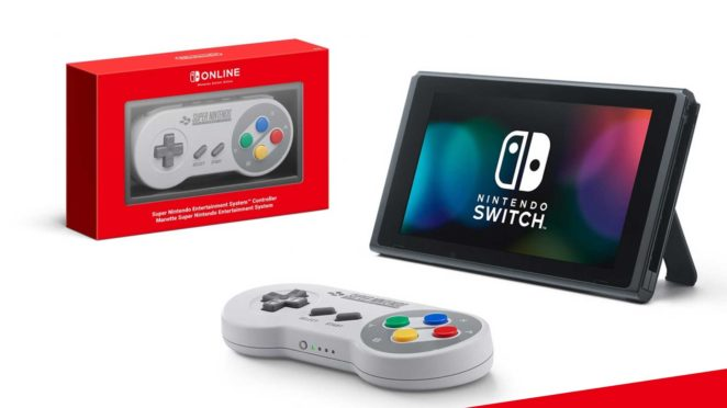 snes controller for nintendo switch detail