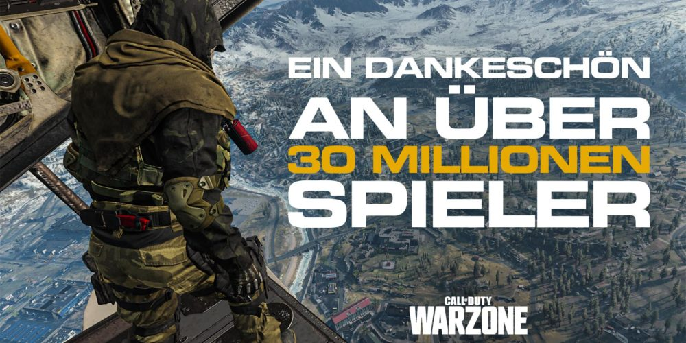 warzone 30 mio