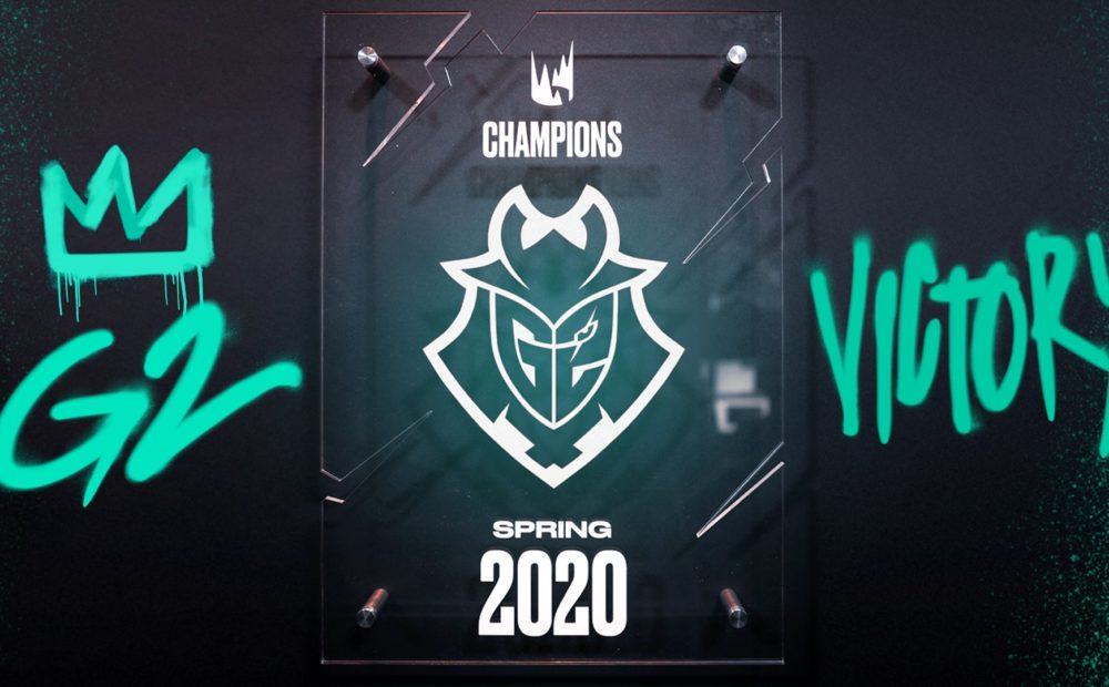 LEC Spring Split 2020 G2 winner